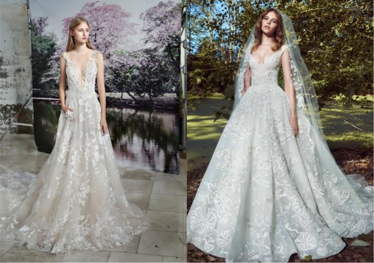 цветы свадебные платья