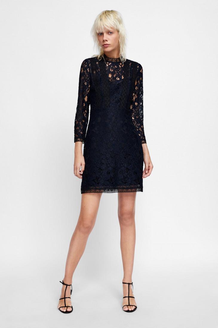 модели черных платьев
