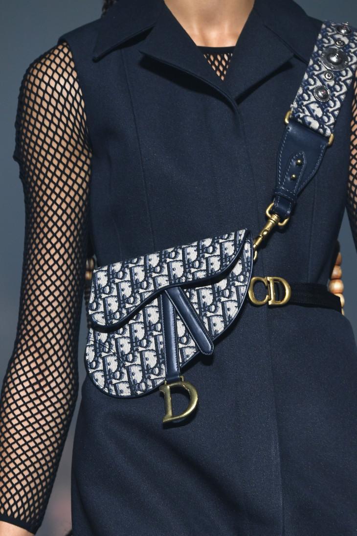 сумка седло Dior