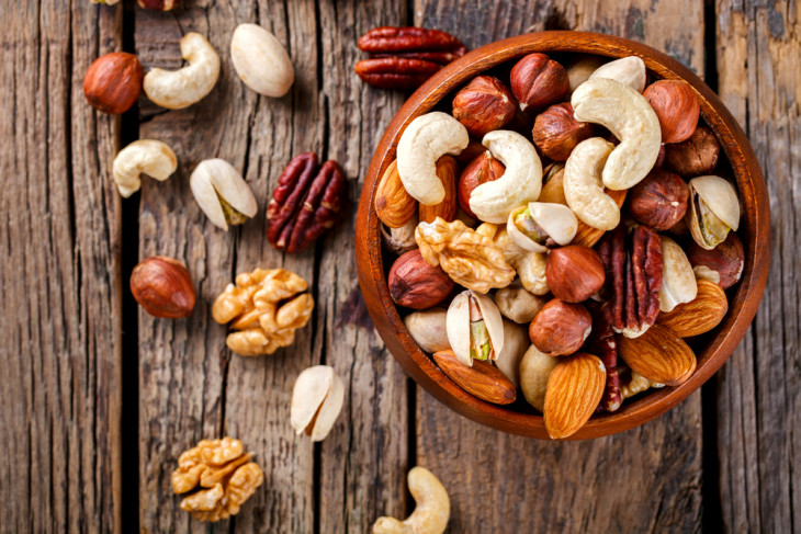 правильное питание орехи