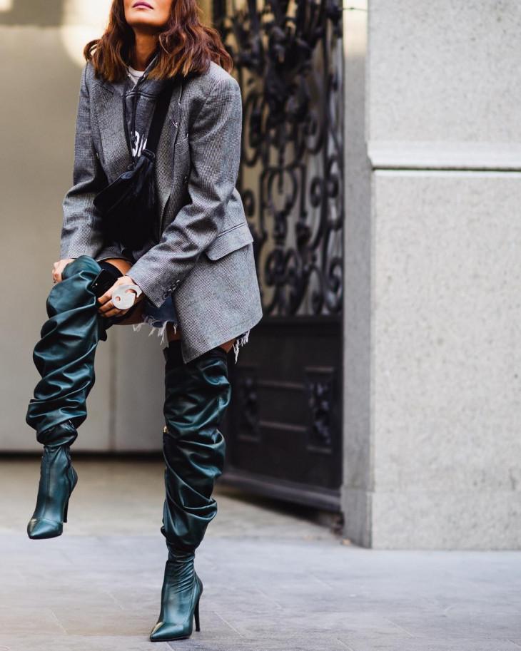 обувные тренды - ботфорты на осень 2018