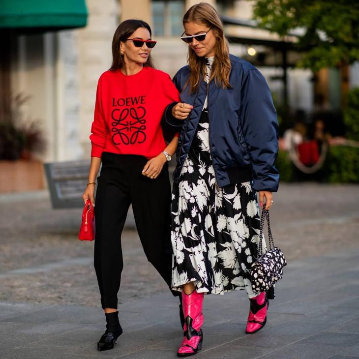 модная обувь 2018 - казаки