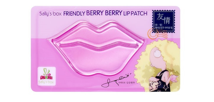 Патчи для губ Sally's Box Friendly Berry Berry Lip Patch