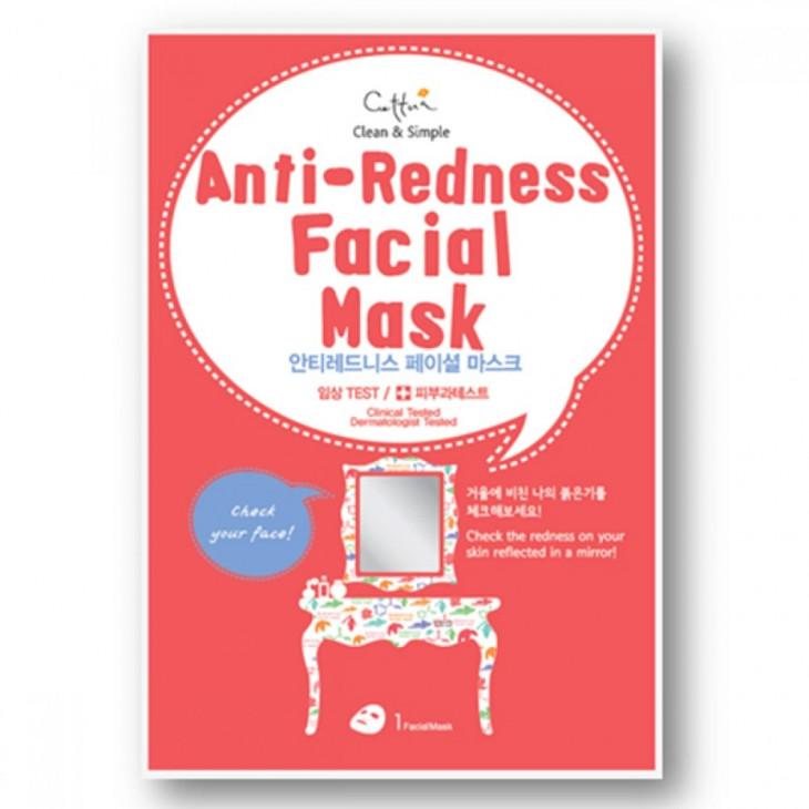 тканевые маски для лица Cettua Anti-Redness Facial Mask