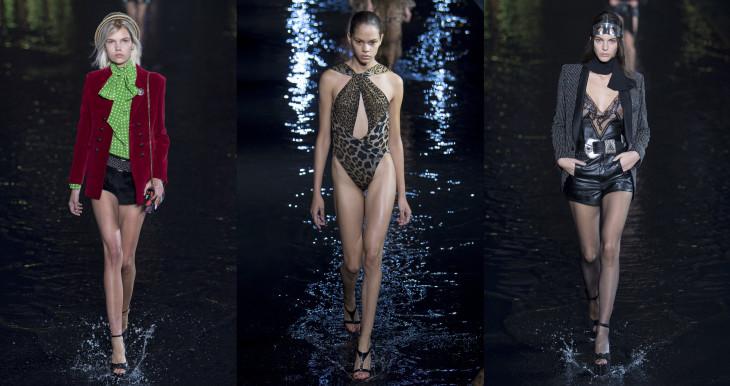 новая коллекция Yves Saint Laurent