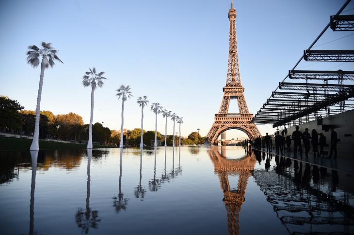новая коллекция Yves Saint Laurent в Париже