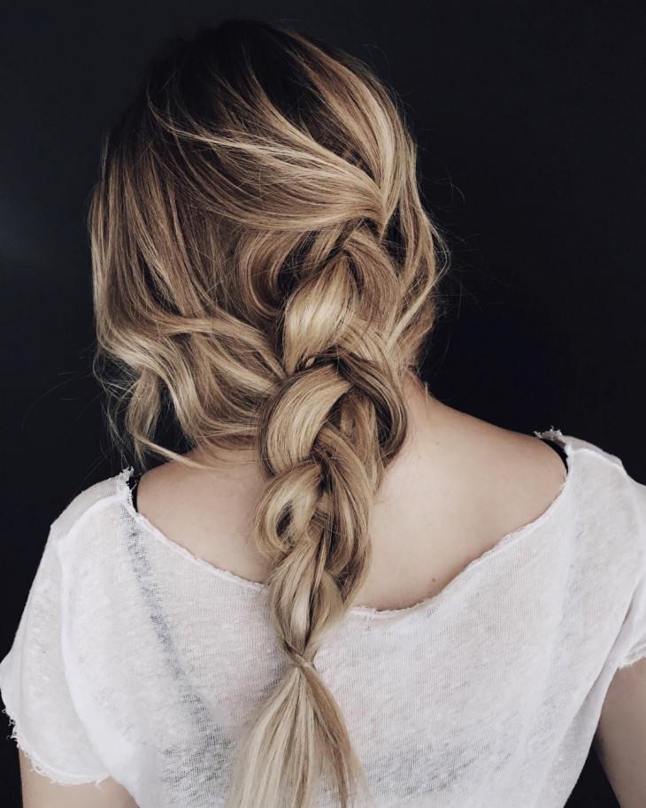 сушка феном волосы