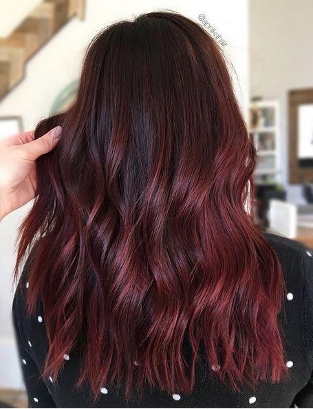 Окрашивание омбре НА темные волосы - 200 фото, цены