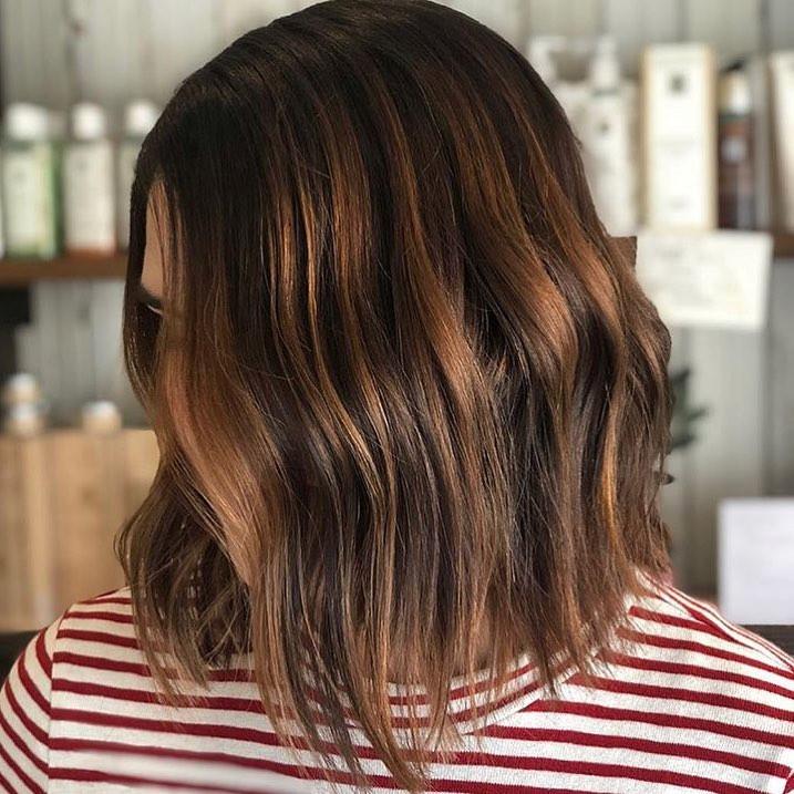 цвет волос зима 2019