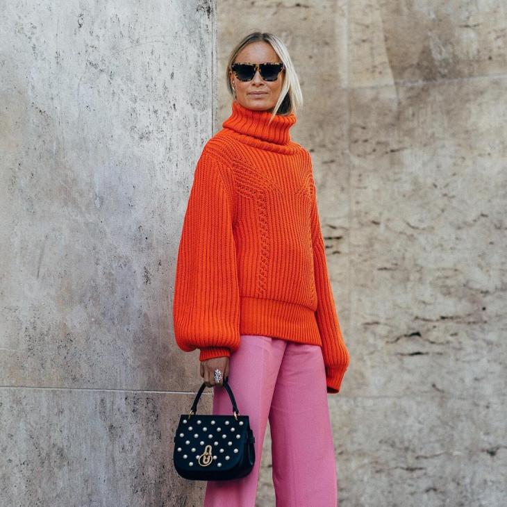 модный свитер на зиму