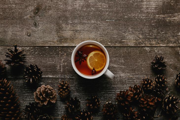 Чай с сосновыми шишками согревающие напитки