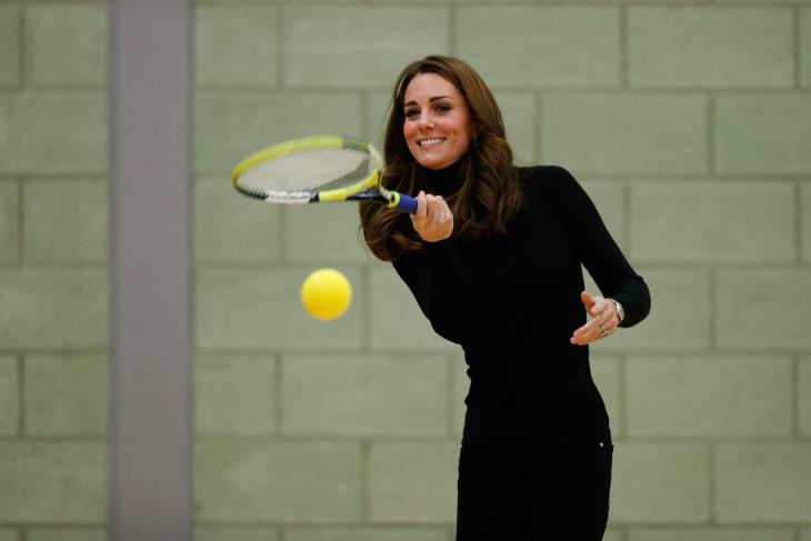 Кейт Миддлтон спорт