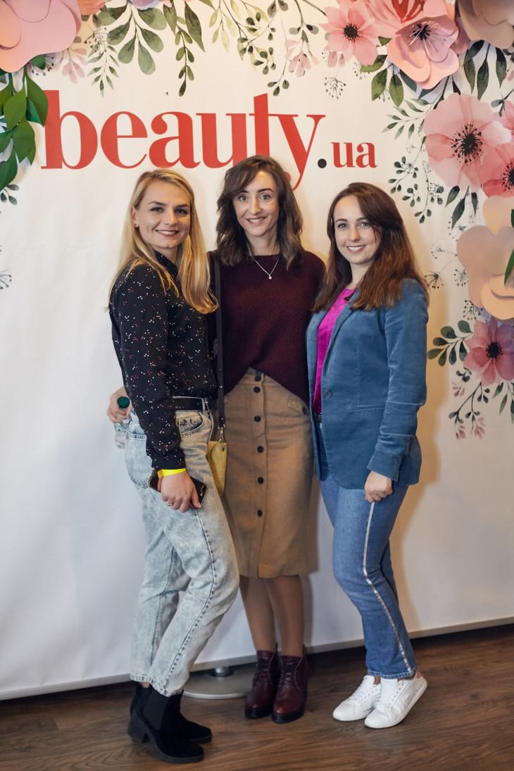 девушки на празднике красоты Beauty Day