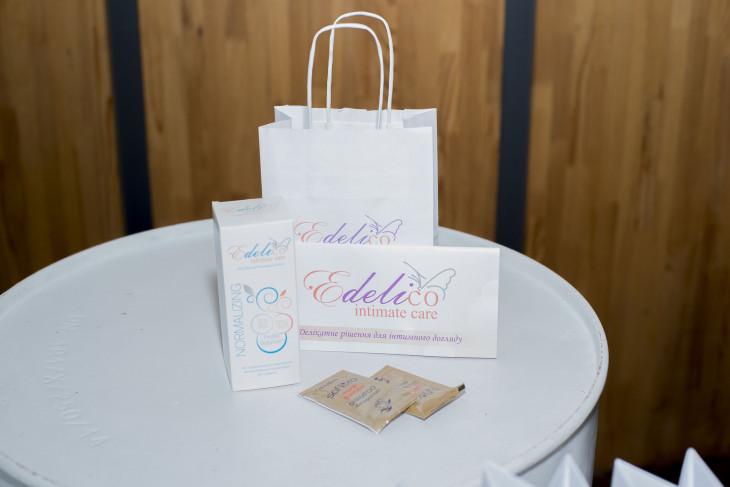 Все гости получили подарки от бренда Эделико