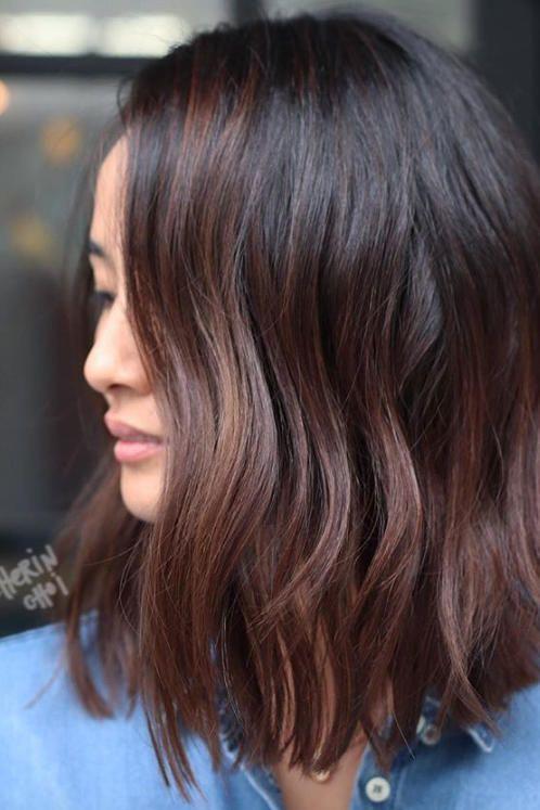 модный цвет волос зима 2019