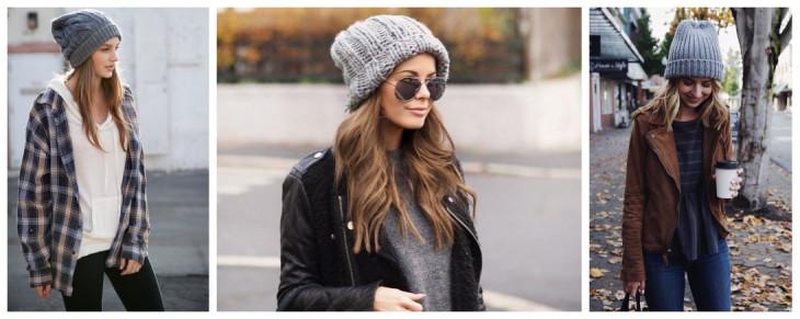 Женские вязаные шапки: как подобрать вязаную шапку к лицу