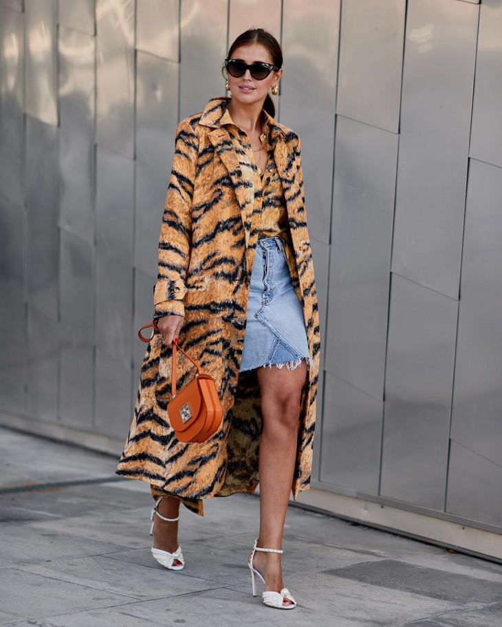 мода осень 2018 - пальто в пол