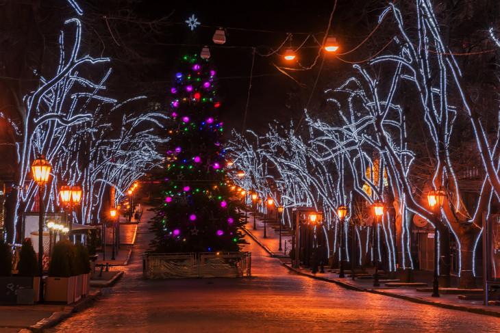 Одесса новый год