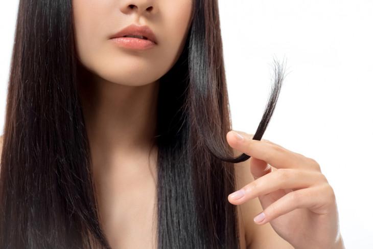 концы волос