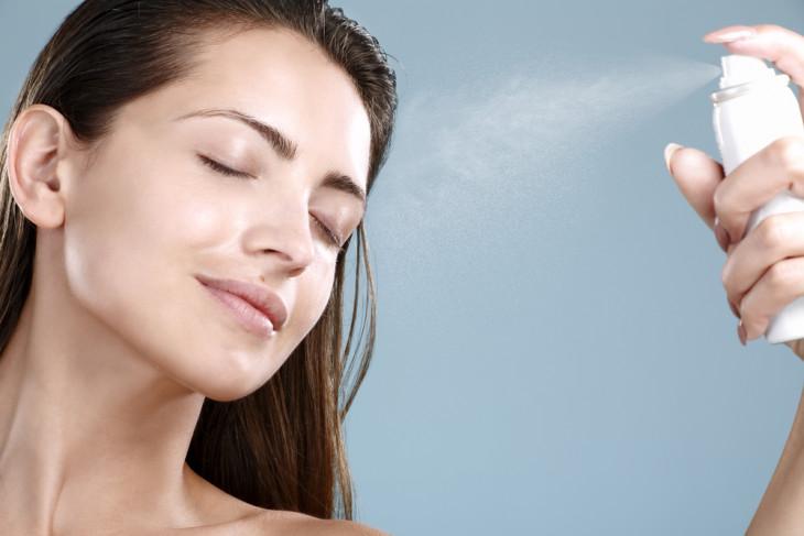трепальная вода на лице