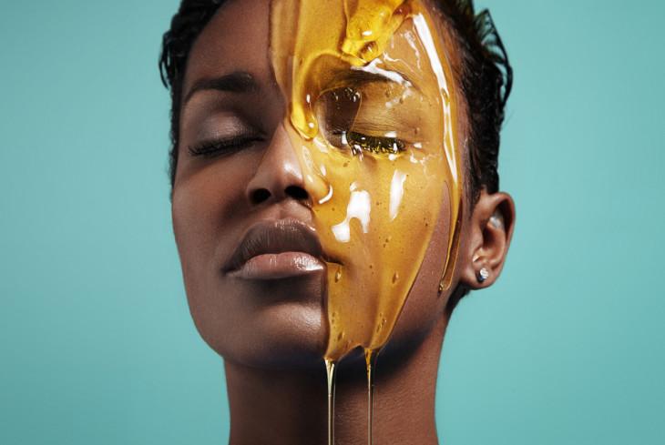 мед и лицо