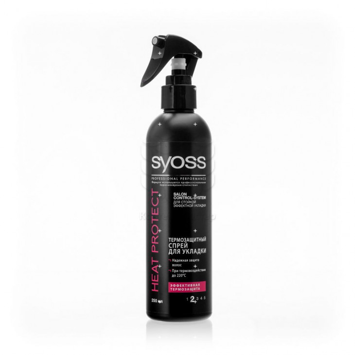 Термозащитный спрей Syoss Heat Protect Spray for Hair Styling
