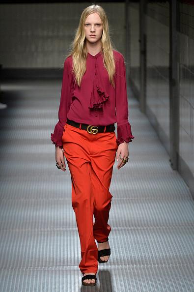 блуза и брюки фуксия