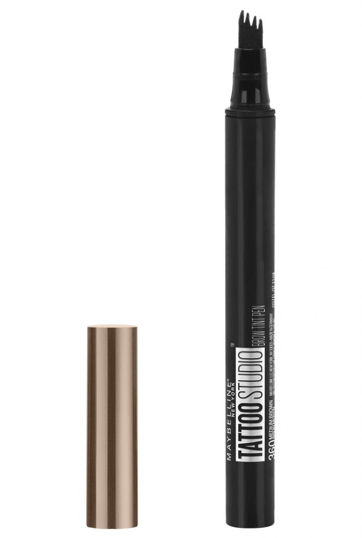 маркер для бровей Maybelline Tattoo Studio Brow Tint Pen