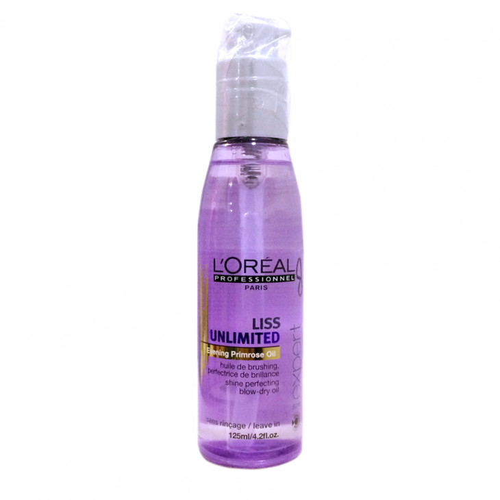 Разглаживающее термозащитное масло L'Oreal Professionnel Liss Unlimited Blow-Dry Oil