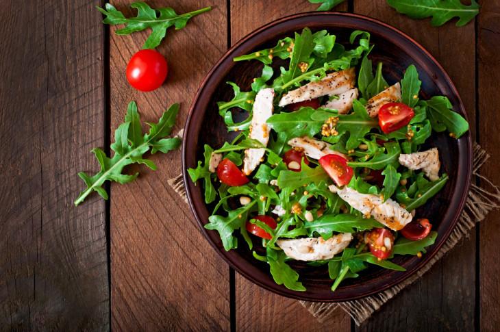 здоровое питание салат