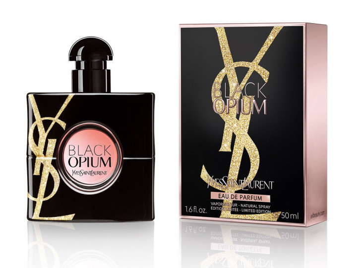 YSL Black Opium Gold Attraction Edition Holiday 2018