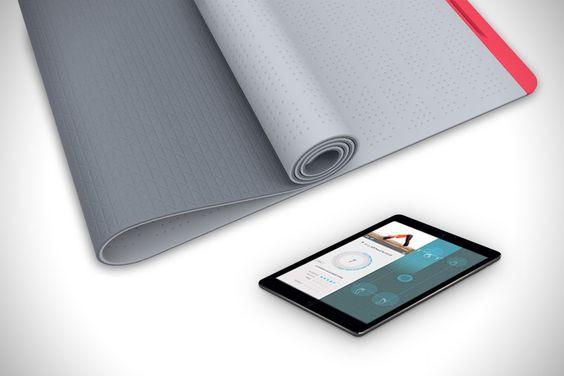 коврик для йоги SmartMat сенсорный