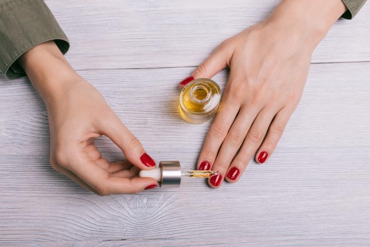 масло для ногтей