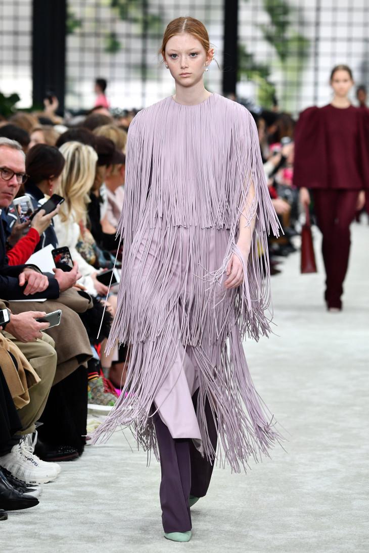 зимние платья бахрома