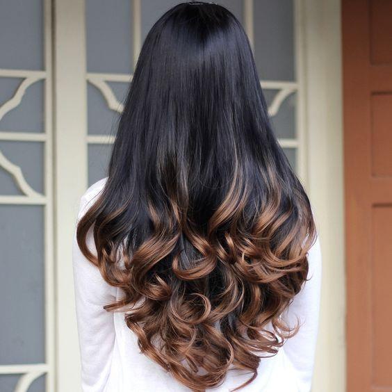 брондирование на темных волосах