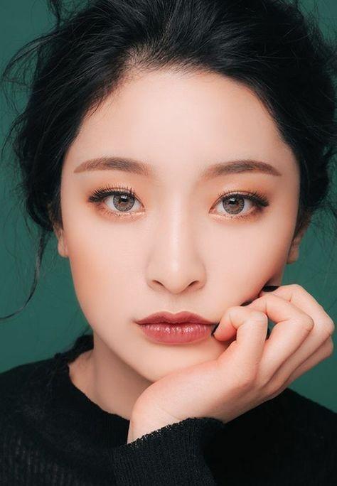 макияж глаз в корейском стиле