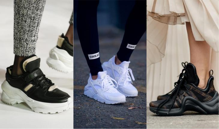 Уродливые кроссовки тренд
