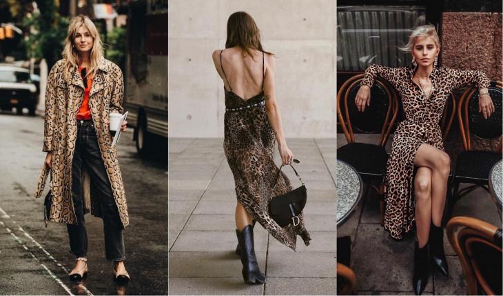 модные тренды леопардовый принт