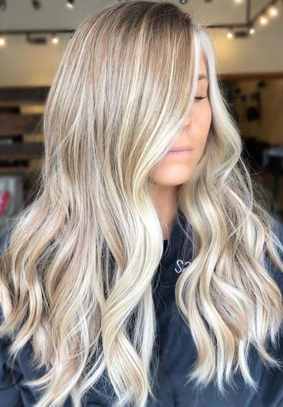 блонд балаяж