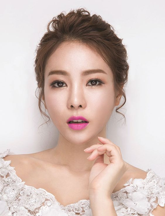 макияж корейский