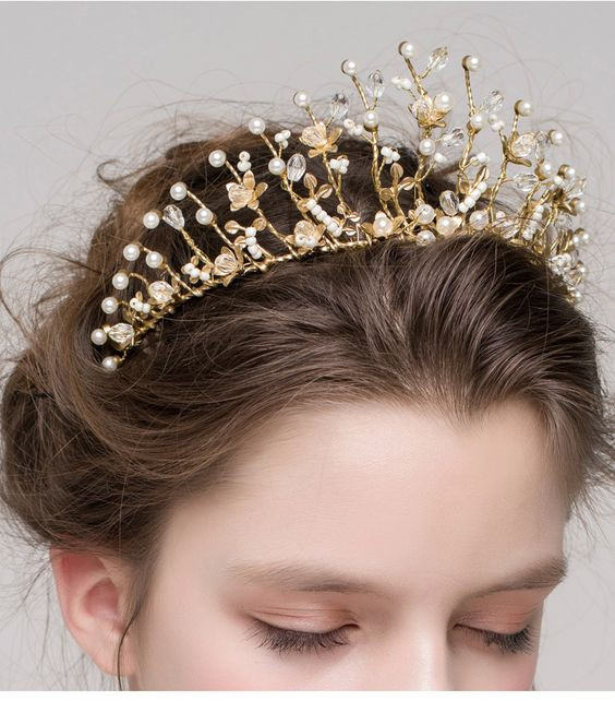 корона - новогодний аксессуар для волос 2019