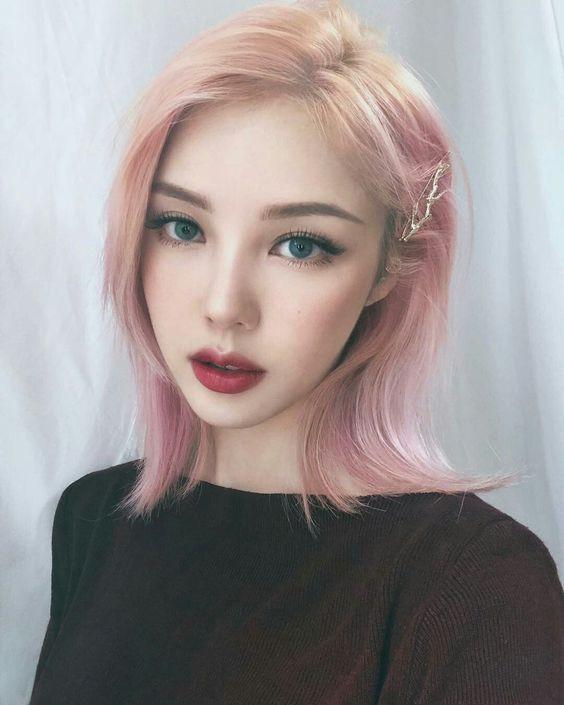 макияж по-корейски