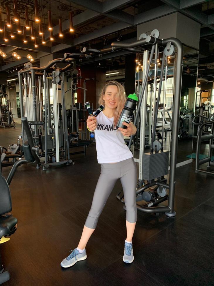 Преображение с Herbalife Nutrition: Оля в спортзале