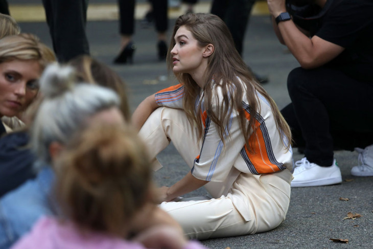 Жертва бодишейминга модель Джиджи Хадид