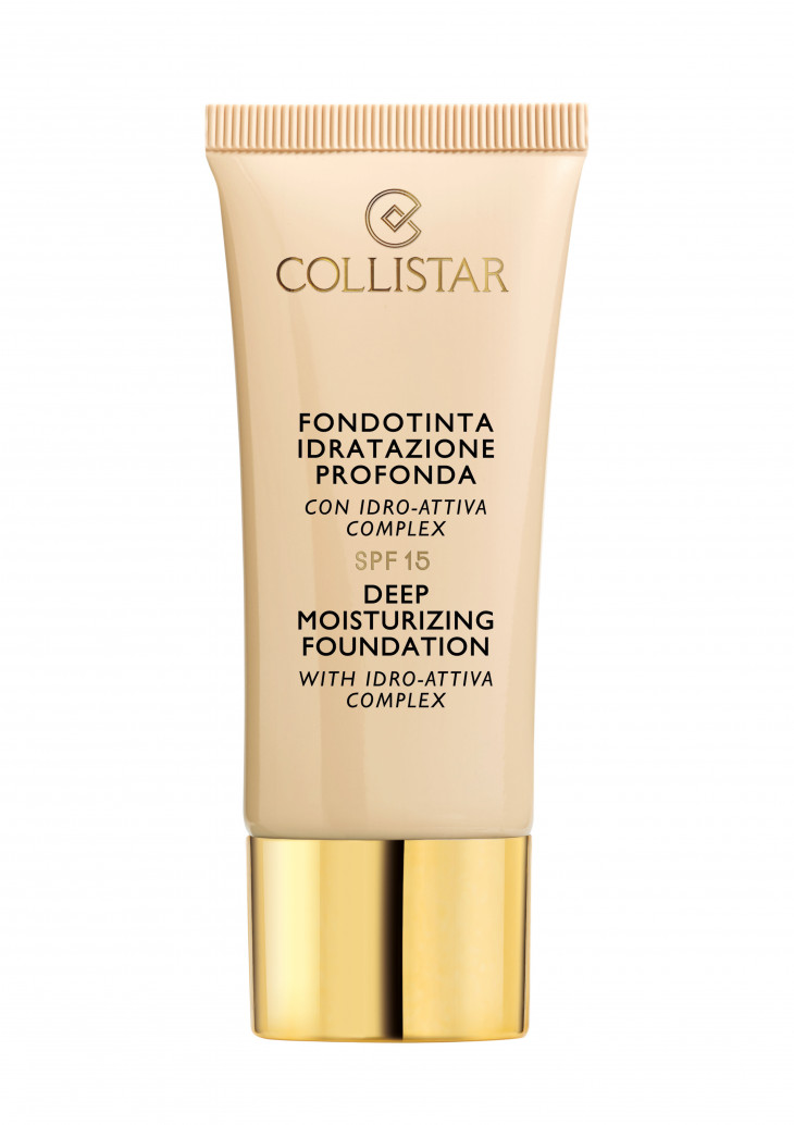 Тональная основа Deep Moisturizing Foundation SPF 15 от Collistar