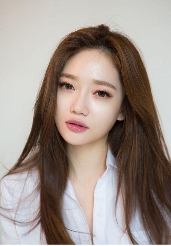тени для век в корейском макияже