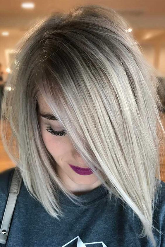 техника балаяж на светлые волосы