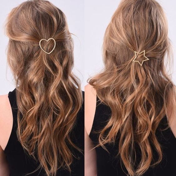 минималистичные украшения для волос
