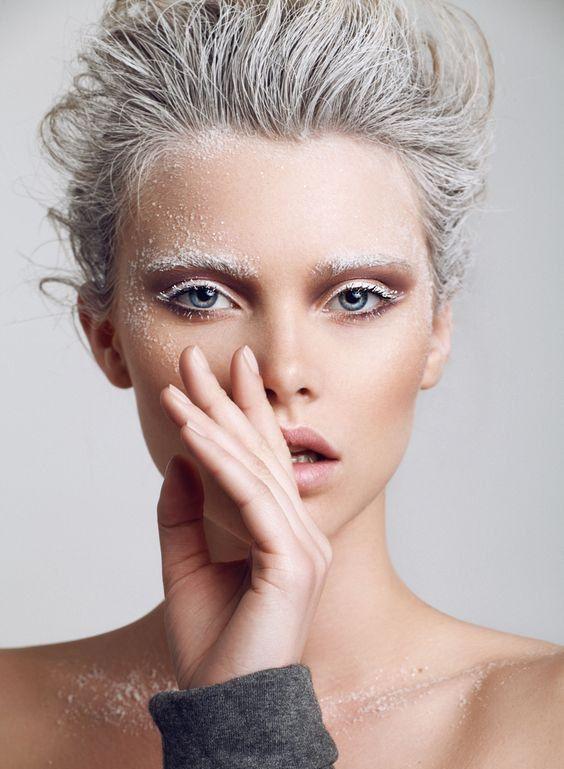 необычный новогодний макияж
