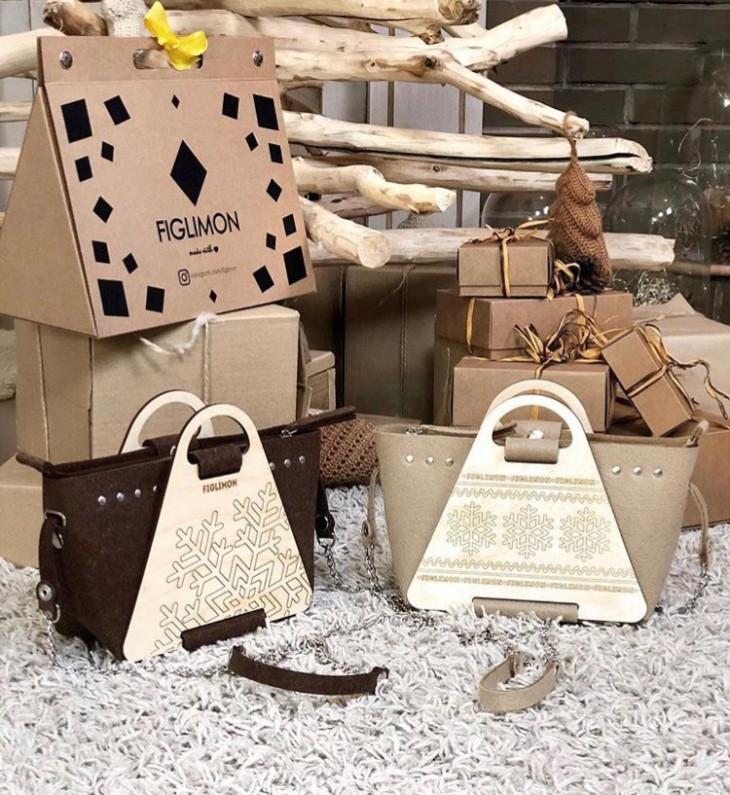 Деревянные сумки Figlimon